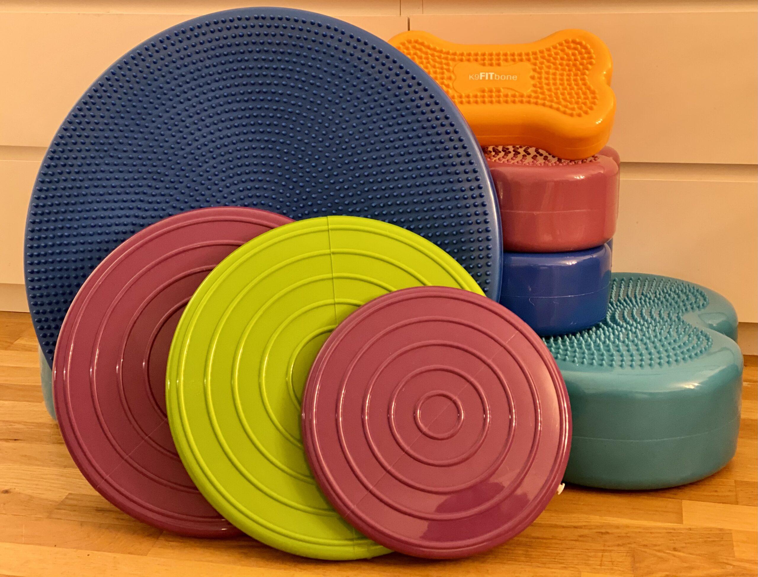 balansbollar finns i många varianter